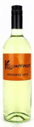 Riesling  2016 / Weinbau Leopold Klimpfinger