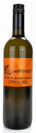 Weißburgunder Spätlese 2015 / Weinbau Leopold Klimpfinger