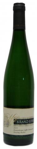 Riesling Brauneberger Juffer-Sonnenuhr Auslese 2015 / Weingut Kranz-Junk