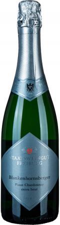 Sekt Blankenhornsberger Pinot Chardonnay . / Staatsweingut Freiburg