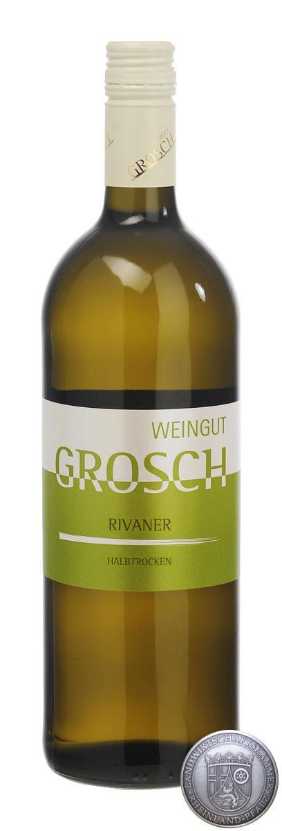 Rivaner Qualitätswein halbtrocken 2016 / Grosch