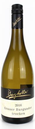 Grauer Burgunder Spätlese Forster Bischofsgarten 2016 / Wein- & Sektgut, Destillerie Bergkeller