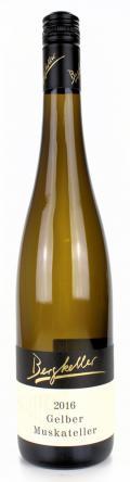 Gelber Muskateller Forster Schnepfenflug 2017 / Wein- & Sektgut, Destillerie Bergkeller