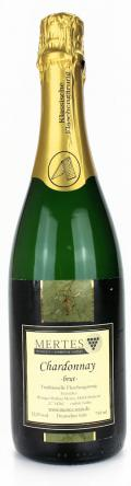 Chardonnay Sekt brut 2014 / Weingut Mertes