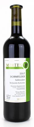 Dornfelder  2017 / Weingut Mertes