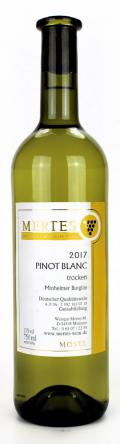 Pinot Blanc  2017 / Weingut Mertes