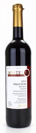 Pinot Noir Barrique 2017 / Weingut Mertes