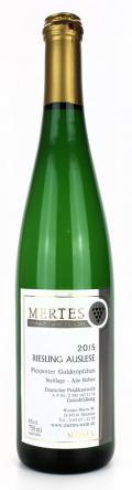 Riesling Auslese Piesporter Goldtröpfchen 2017 / Weingut Mertes