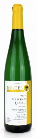 Riesling Classic 2017 / Weingut Mertes