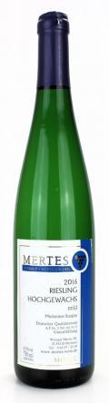 Riesling Hochgewächs mild 2016 / Weingut Mertes