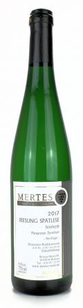 Riesling Spätlese feinherb 2017 / Weingut Mertes