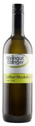 Gelber Muskateller  2018 / Ebinger Johann, Weingut/Weinviertel