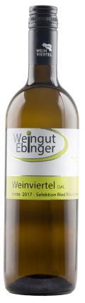 Grüner Veltliner Weinviertel DAC Rösselberg 2017 / Ebinger Johann, Weingut/Weinviertel