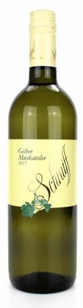 Gelber Muskateller  2018 / Weingut Schruiff
