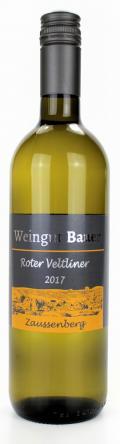 Roter Veltliner  2017 / Josef u. Claudia Bauer