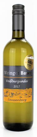 Weißburgunder  2017 / Josef u. Claudia Bauer