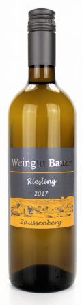Riesling  2017 / Josef u. Claudia Bauer