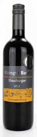 Blauburger  2015 / Josef u. Claudia Bauer