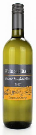 Gelber Muskateller  2017 / Josef u. Claudia Bauer