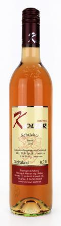 Schilcher Blattspiel 2018 / Koller