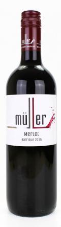 Merlot Barrique 2017 / Müller Markus
