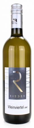 Grüner Veltliner Weinviertel DAC 2017 / Rieder