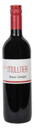 Blauer Zweigelt lieblich 2017 / Weinbau Müllner