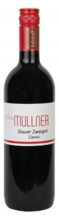 Blauer Zweigelt Classic 2016 / Weinbau Müllner