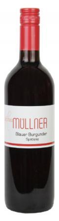 Blauburgunder Spätlese 2015 / Weinbau Müllner