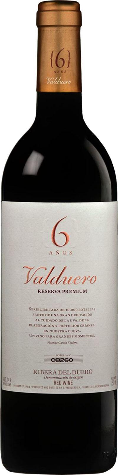 Valduero Reserva Premium 6 Anos  2009 / Bodegas Valduero
