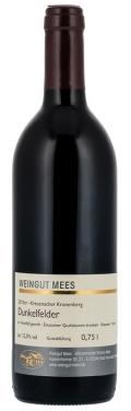 Dunkelfelder Rotwein trocken Qualitätswein QbA Kreuznacher Kronenberg  2013 / Mees