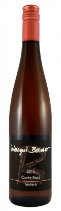 Cuvee Rosé feinherb 2018 / Bender