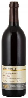 Portugieser Rotwein lieblich Qualitätswein QbA Kreuznacher Rosenberg  2015 / Mees