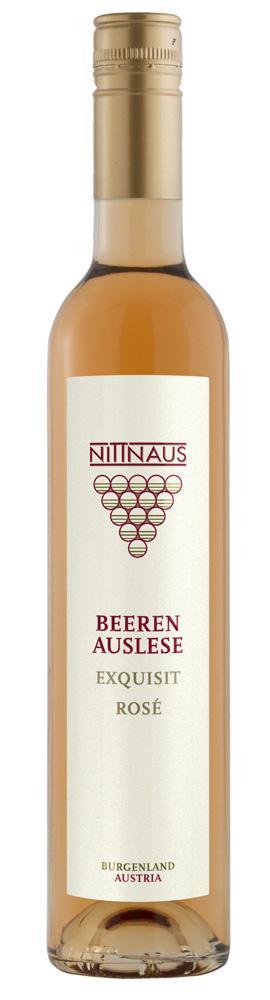 Cuvee Beerenauslese Exquisit Rosé 2015 / Gebrüder Nittnaus