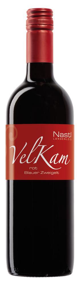 Blauer Zweigelt VelKam rot 2019 / Nastl