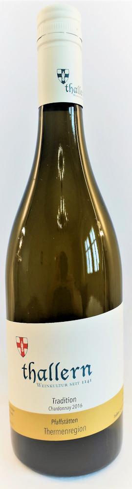 Chardonnay Tradition Pfaffstätten 2016 / Freigut Thallern