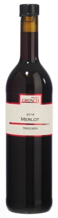 Merlot Qualitätswein trocken 2016 / Grosch