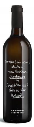 Chardonnay  2017 / Christoph Edelbauer