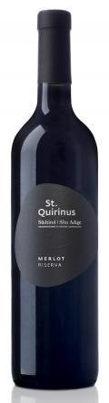 Merlot Riserva Südtiroler DOC 2016 / St. Quirinus