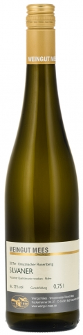 Silvaner trocken Qualitätswein QbA Kreuznacher Rosenberg 2017 / Mees