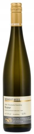 Rivaner halbtrocken Qualitätswein QbA Kreuznacher Rosenberg Weißwein 2017 / Mees