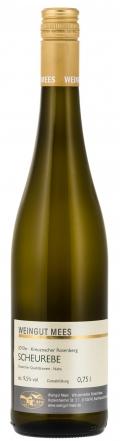 Scheurebe lieblich Qualitätswein QbA Kreuznacher Kronenberg 2017 / Mees