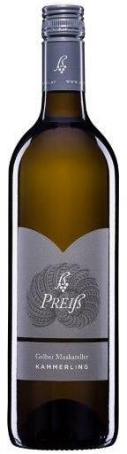 Gelber Muskateller Kammerling 2019 / Weinkultur Preiß