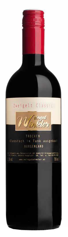 Blauer Zweigelt Classic 2017 / Winkler