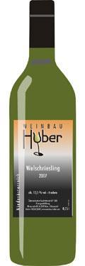 Welschriesling  2019 / Huber