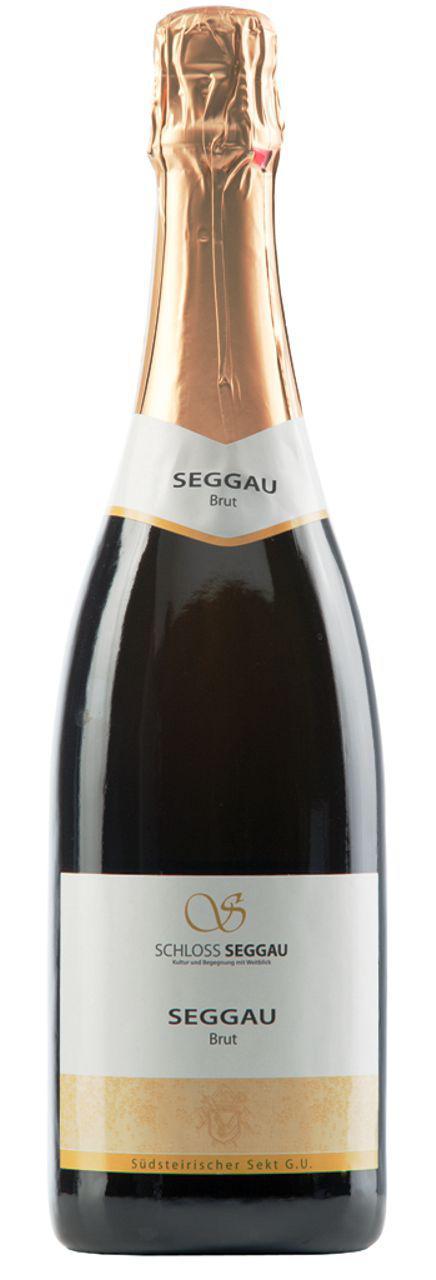 Sekt Seggauer Brut Blanc 100 % Chardonnay / Bischöflicher Weinkeller Seggau