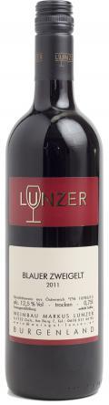 Blauer Zweigelt  2011 / Lunzer Markus