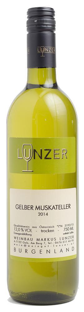 Gelber Muskateller  2014 / Lunzer Markus