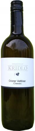 Grüner Veltliner Classic Qualitätswein 2014 / Kridlo