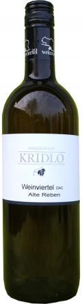 Grüner Veltliner Weinviertel DAC Alte Reben 2014 / Kridlo